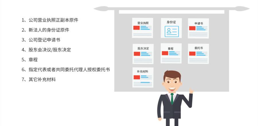 广州代办企业法人变更流程和费用