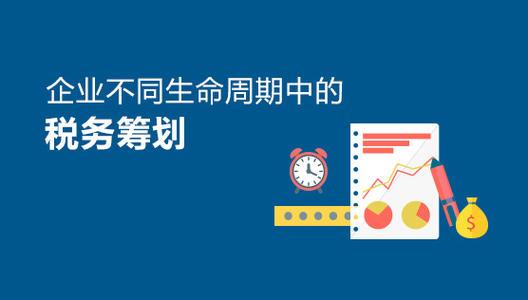 企业税务筹划技巧,税务筹划的几个常见方法分享